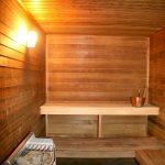 Maatilamatkailuun kuuluu myös saunomista